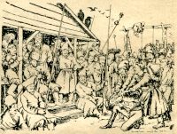 Александр Бенуа иллюстрация к Капитанской дочке