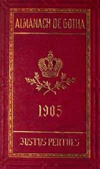 Готский Альманах 1905 год