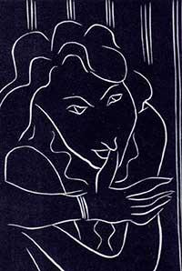 Работа Мругелло по линогравюре Матисса 1938 года