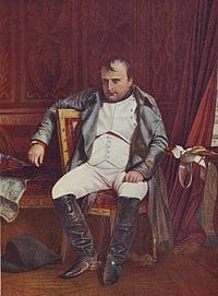 Наполеон в Фонтенебло