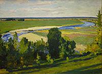 Грабарь Вид на Москва-реку