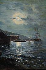 Клодт Ночная гавань