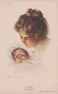 Почтовая открытка LULLABYE (MOTHERHOOD)