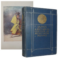 Japan. A record in color by Mortimer Menpes. Transcribed by Dorothy Menpes