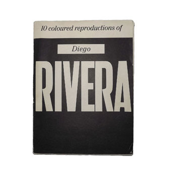 10 coloured reproductions of Diego Rivera